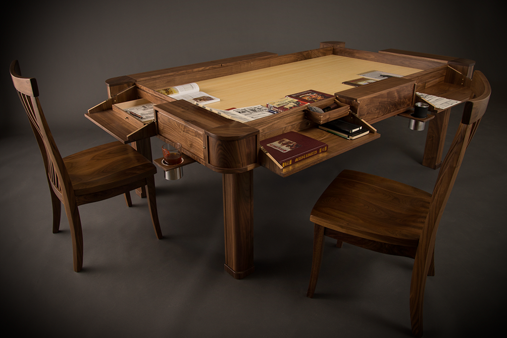 The Vizier Gaming Table Driven To Net Zero